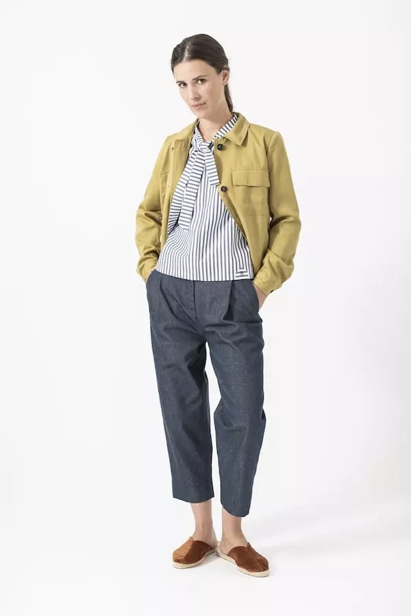 Jacke Antje von Grenzgang Slow Organic Fashion