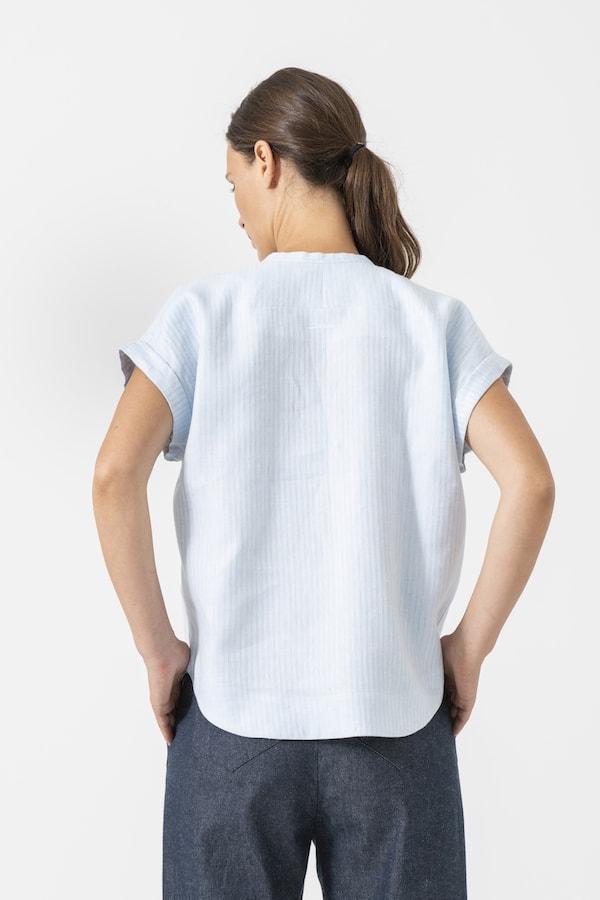 Bluse Colette von Grenzgang Slow Organic Fashion