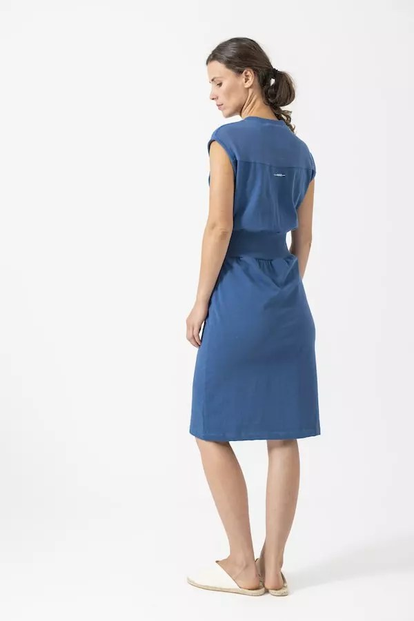 Jersey-Kleid Fiona von Grenzgang Slow Organic Fashion