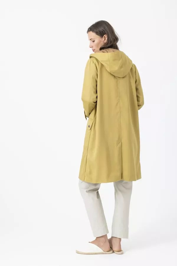 Mantel Anni von Grenzgang Slow Organic Fashion