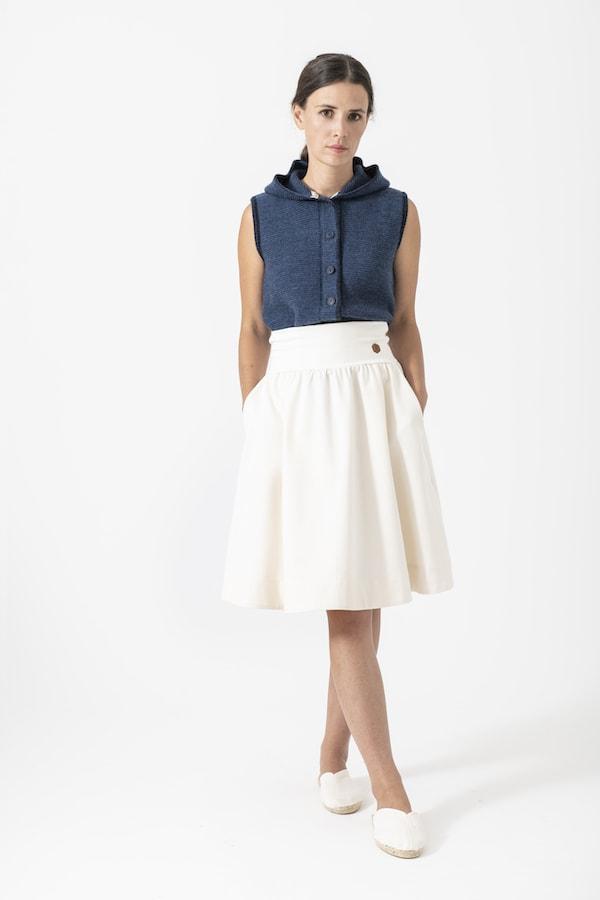 Strickweste Susanne von Grenzgang Slow Organic Fashion