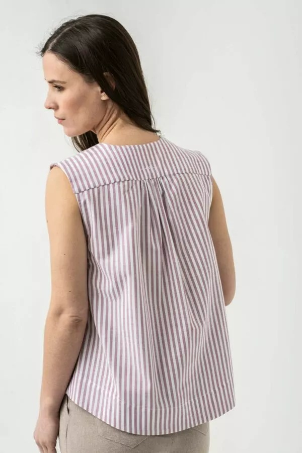 Bluse Charlotte von Grenzgang Slow Organic Fashion