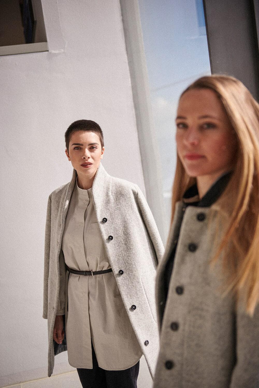Mantel Amalia von Grenzgang Slow Organic Fashion
