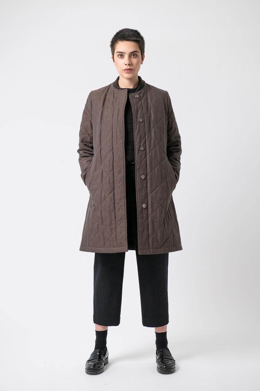 Steppmantel Aja von Grenzgang Slow Organic Fashion