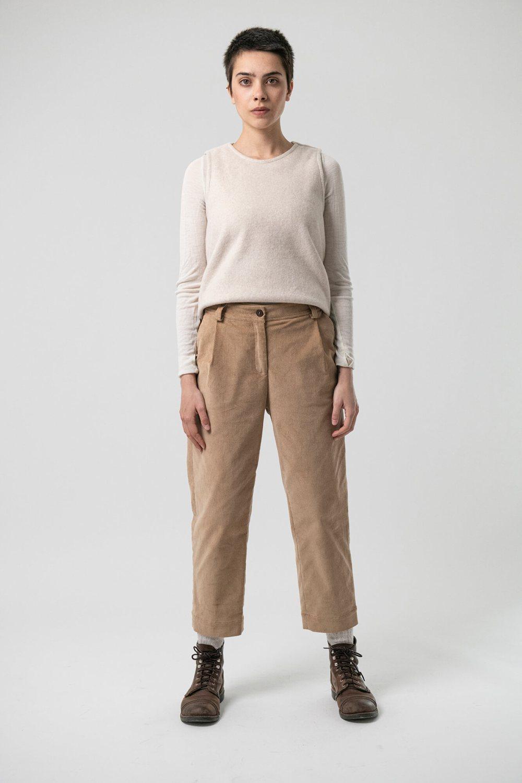 Culottes Madeleine Lana von Grenzgang Slow Organic Fashion