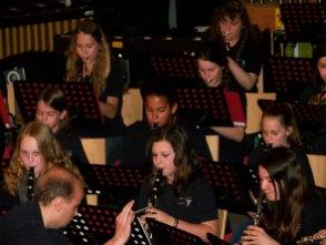 Viele Musiker der Grenzlandkapelle Hardegg wirkten dabei mit.