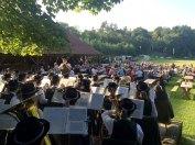 Im schönen Ambiente des Fronsburger Bründls spielten wir ein Nachmittagskonzert.
