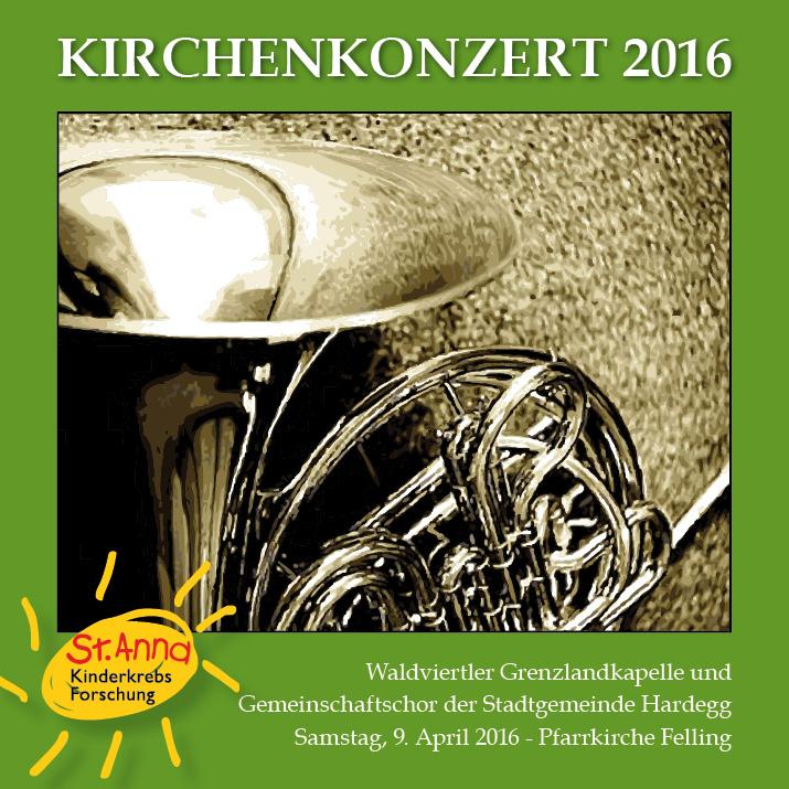 Kirchenkonzert 2016 CD-Cover