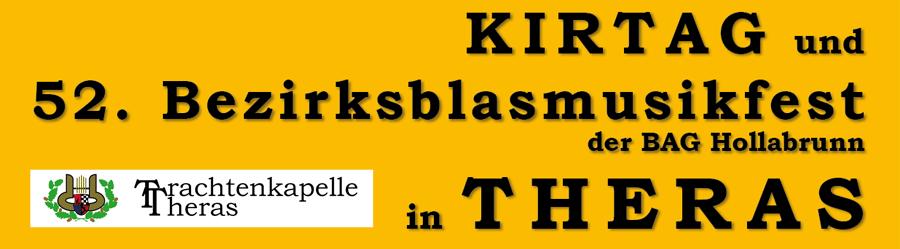 Bezirksmusikfest 2016 in Theras