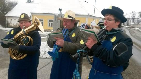 Die Faschingsnarren der Grenzlandkapelle 2018