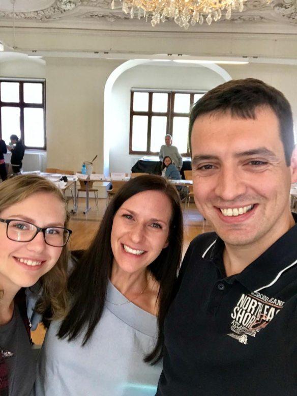 Unsere Funktionäre mit Stefanie Glabischnig (LRef in Kärnten)