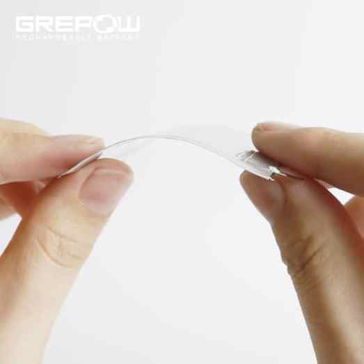 GREPOW wearable thin curved shaped battery