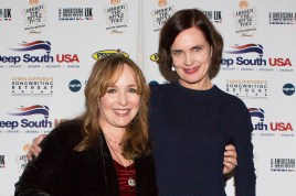 UK Americana Awards with Elizabeth McGovern photo by Ed Whitmarsh