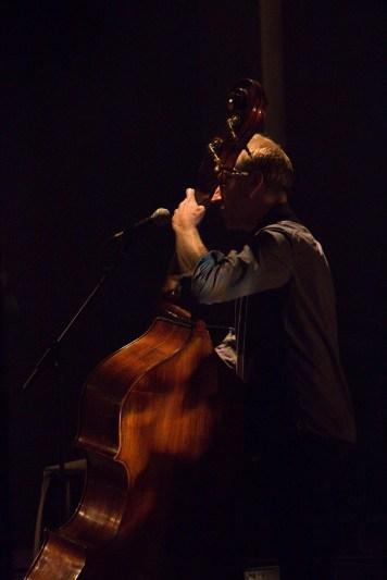Conor McCreanor, bass De La Warr Pavilion, Bexhill-On-Sea photo by Rebecca Kemp