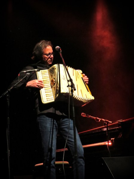 Barry Walsh, piano & accordion photo by Andrew Newiss