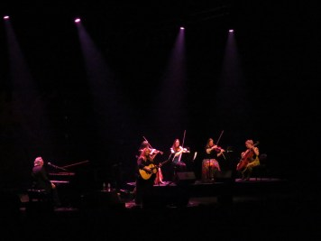 with the Southern Fried String Quartet, Southern Fried Festival, Perth Concert Hall, Perth, Scotland 29 July 2018 photo by Andrew Newiss