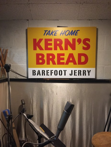 Cinderella Studio owner & founder Wayne Moss' band Barefoot Jerry