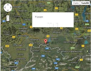 Fehlerhafte Anzeige der InfoWindows in GoogleMaps unter Verwendung von Twitter Bootstrap