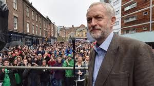 A croire que Corbyn voudrait être ailleurs.
