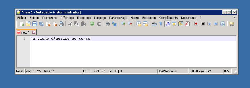 editeur texte notepad++