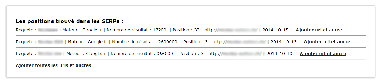 positions serps
