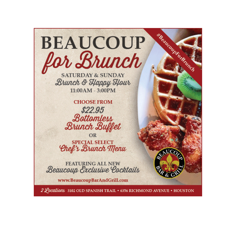 Beaucoup Bar & Grill Social Media
