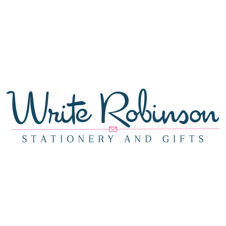 Write Robinson Stationery and Gifts Logo Design