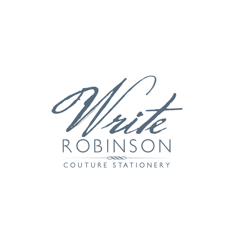 Write Robinson Logo Design