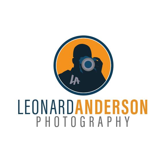 Leonard Anderson Photography Logo Design
