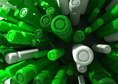 Green Cylinders