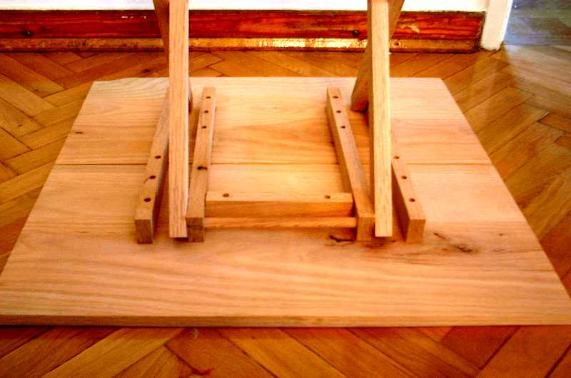 wooden folding table legs plans