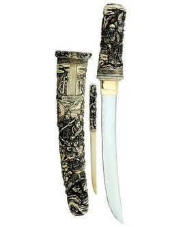 Tanto Ceremonia Samurai Dagger by Marto of Toledo Spain