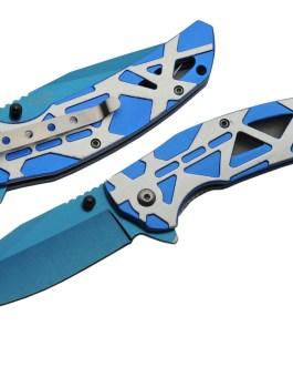 4.5″ SONIC BLUE FOLDER – SPRING ASSIST