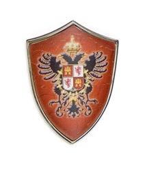 Miniature Toledo Shield by Marto of Toledo Spain