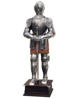 Spanish Suit of Armor of the 16th century by Marto of Toledo Spain (Etched)