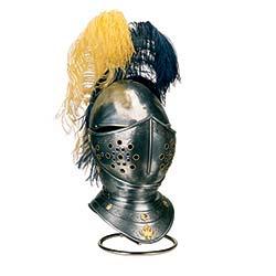 Engraved Spanish Horse Helmet of the 16th century by Marto of Toledo Spain