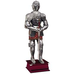 Carlos V Suit of Armor by Marto of Toledo Spain – Full Size – Bas Relief
