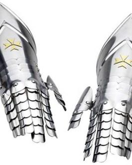 Templar Knight Armor Gauntlets by Marto of Toledo Spain