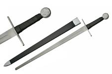 40″ MEDIEVAL CROSS BATTLE READY SWORD