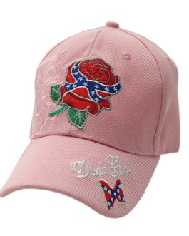 """DIXIE GIRLS"" PINK CAP"