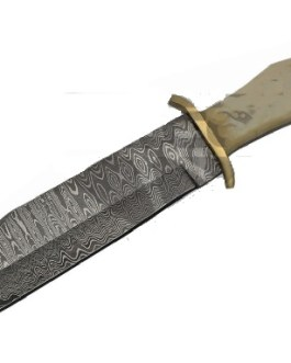 12.5 AMERICAN FLAG DAMASCUS BOWIE