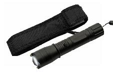 7″ BLACK KWIK FORCE FLASHFIRE STUN GUN