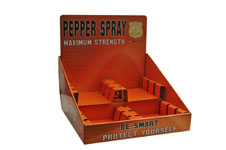 CARDBOARD PEPPER SPRAY DISPLAY