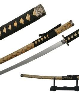 40″ KATANA SNAKE SKIN SWORD