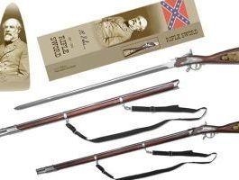 General Robert E. Lee Rifle Sword