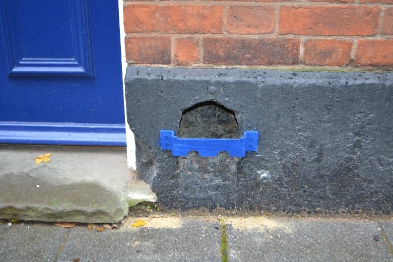 31 Friar Lane boot scraper