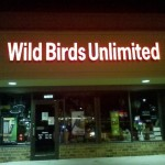 Wild Birds Unlimited channel letter sign