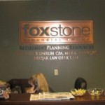 Foxstone office sign