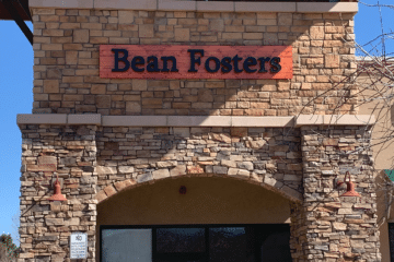 Bean Fosters sign