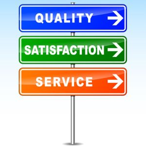 Quality Satisfaction Service Custom Signs Business Help
